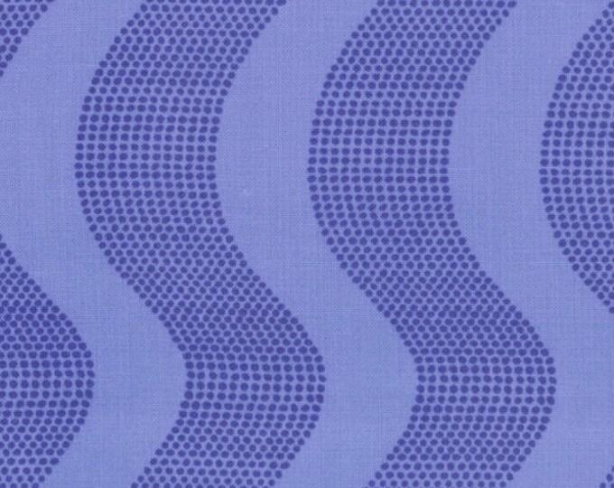American Moda fabric, good fortune blue waves