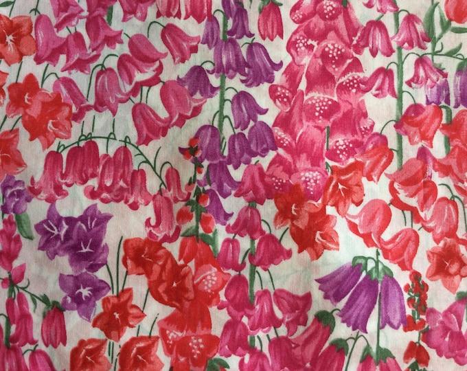 Tana lawn fabric from Liberty of London, Birkbeck