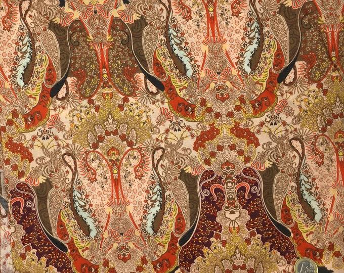 English Pima lawn cotton fabric, Puma