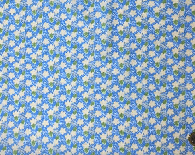 Huh quality cotton poplin, vintage floral print