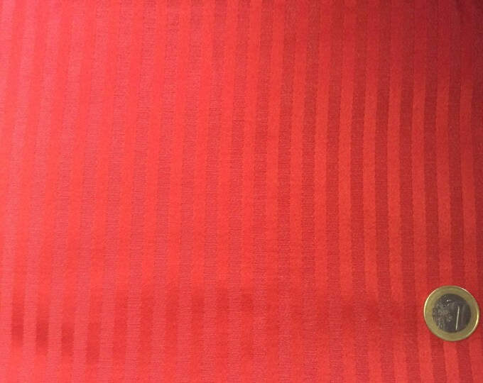 Heavy cotton fabric, stripe weave, 280cm wide