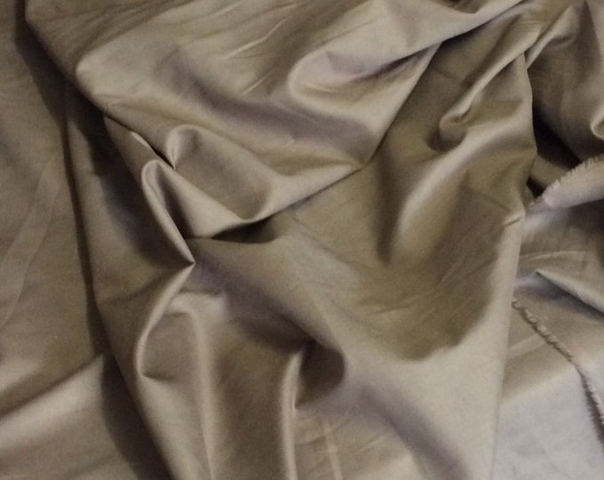 High quality cotton lawn dyed in Japan. Dark Beige no48