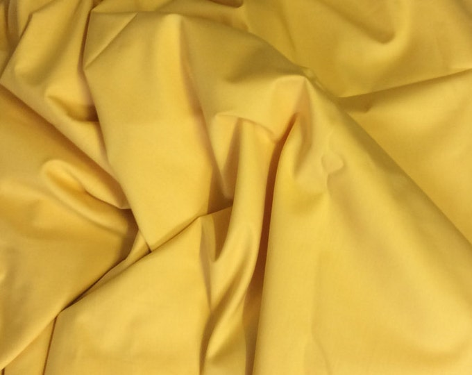 High quality cotton poplin dyed in JapaN. yellow no14