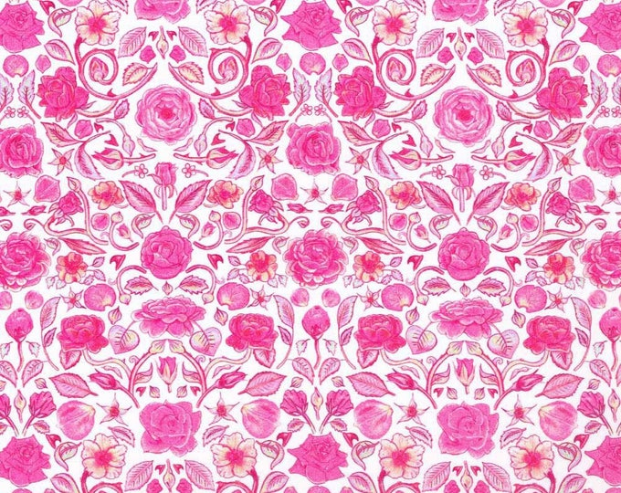 Tana lawn cotton fabric from Liberty of London, Penrose