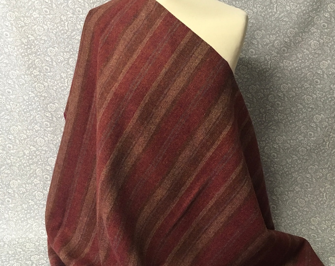 Genuine Shetland pure wool fabric, Catacol Autumn