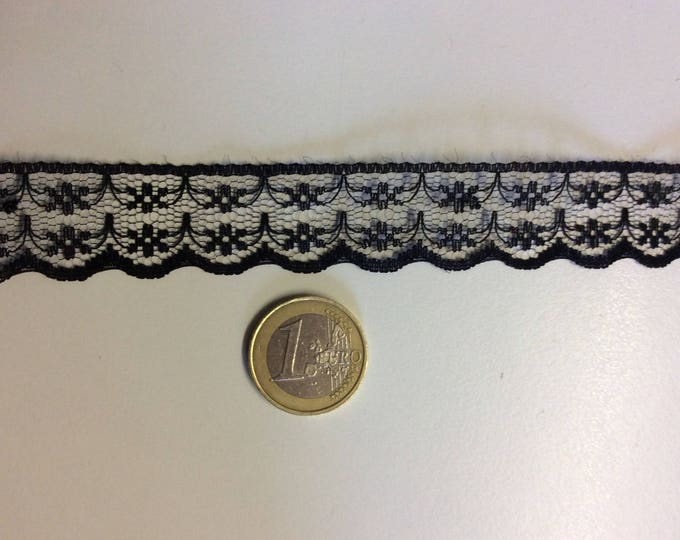 "Lace trim sold by the meter (39"")"