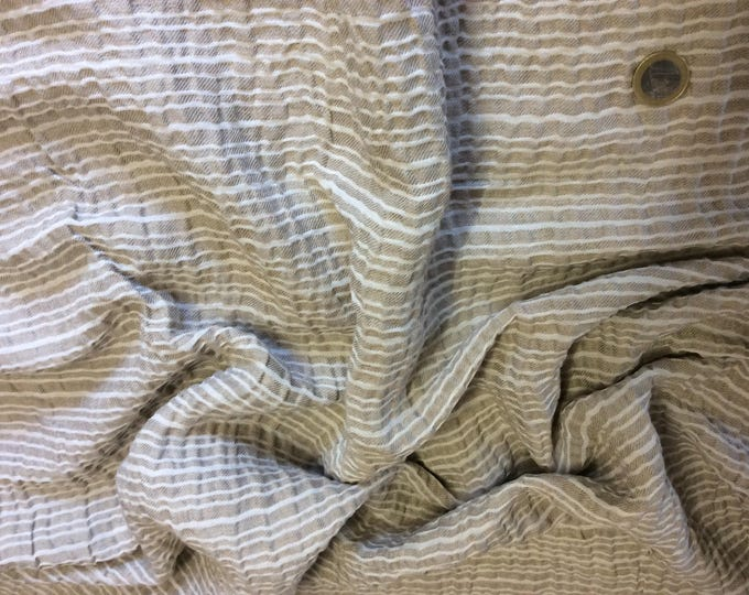 Cotton fabric, woven check pattern
