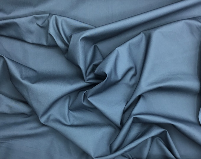 High quality cotton poplin, oektoex certified. Tempest blue nr65