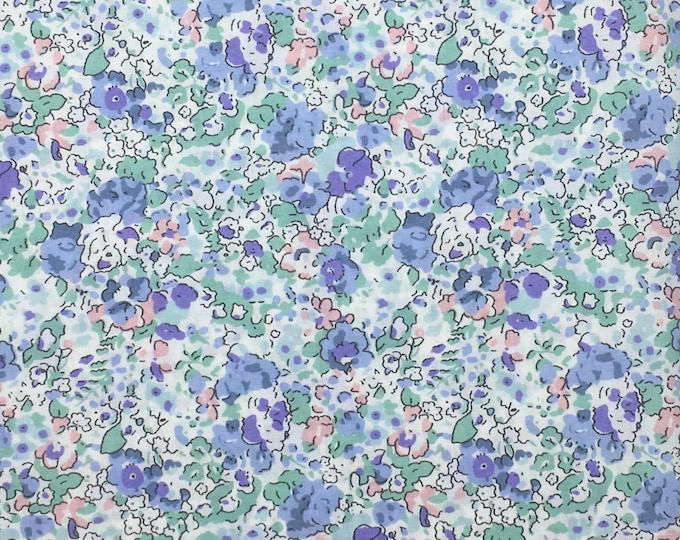 Tana lawn fabric from Liberty of London, claire Aude