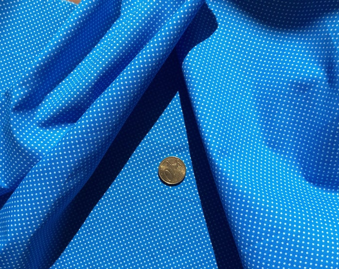 High quality cotton poplin, turquoise
