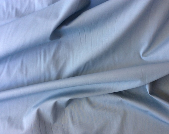High quality cotton poplin dyed in Japan. Baby blue  no5