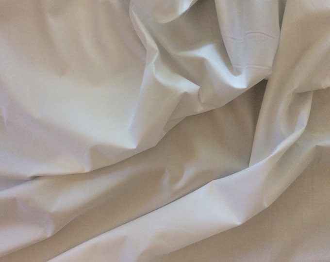 High quality cotton poplin dyed in Japan. No1 white