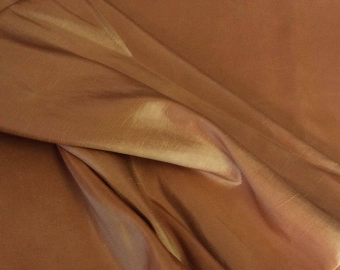 Taffetas fabric, golden weave