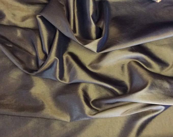 Taffetas fabric, copper/black woven