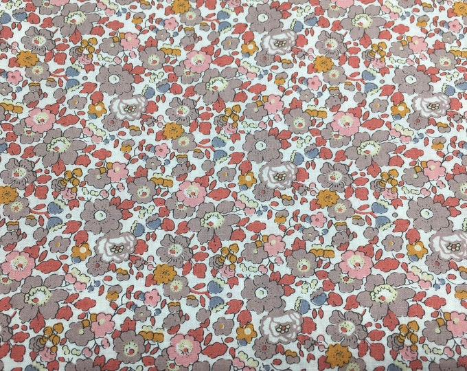 Tana lawn fabric from Liberty of London, exclusive Betsy Ann Autumn
