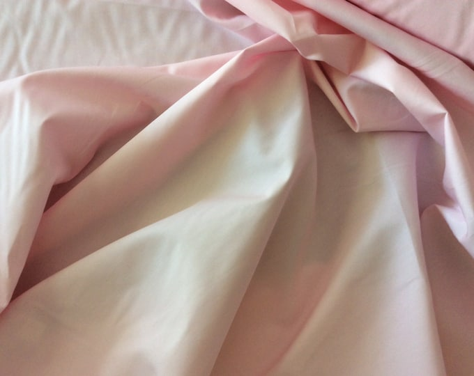 High quality cotton poplin dyed in Japan. Pink no4