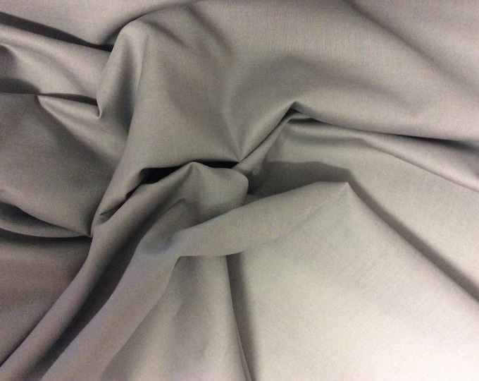 High quality cotton lawn dyed in Japan. Mid grey no8