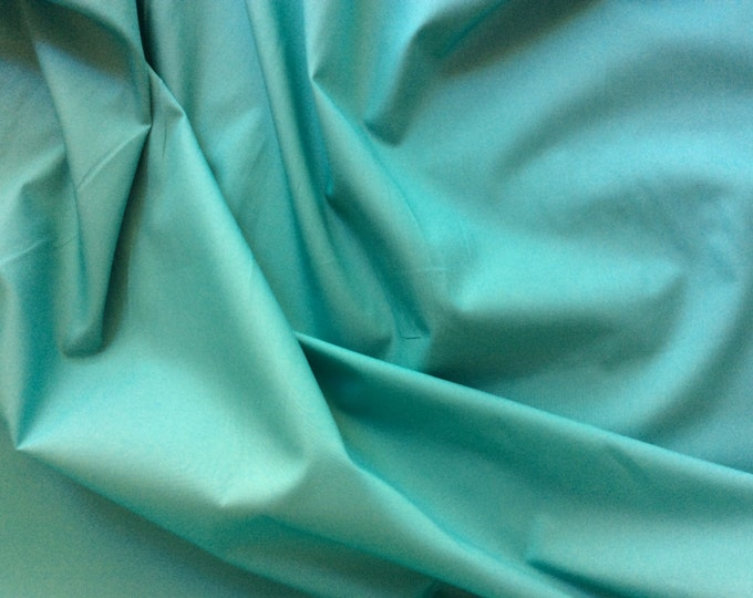 High quality cotton poplin dyed in Japan. jade no31
