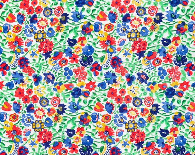 Tana lawn fabric from Liberty of London, Kaylie Sunshine