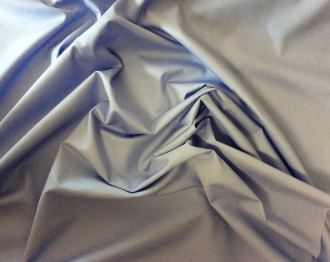 High quality cotton poplin dyed in Japan. Soft blue no34