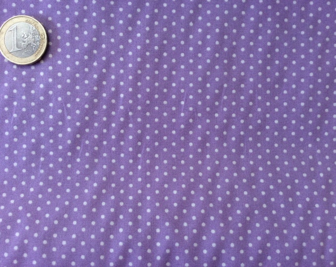 High quality cotton poplin dyed in Japan with 2mm polka dots nr31