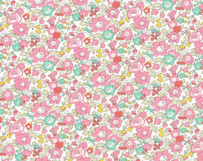Tana lawn fabric from Liberty of London, Betsy Ann