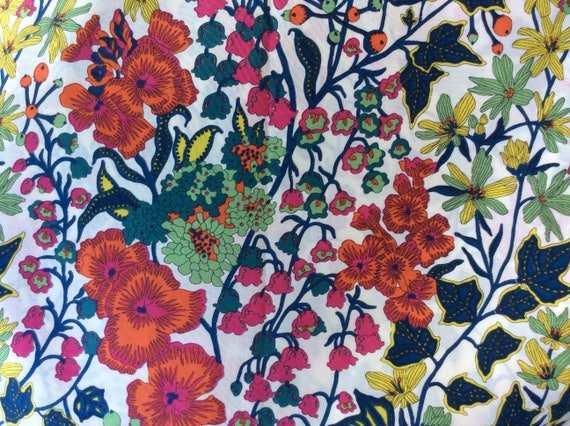Tana lawn fabric from Liberty of London, Edna