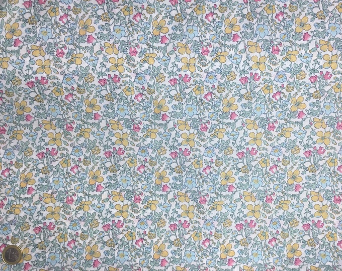 Tana lawn fabric from Liberty of London, Meadow