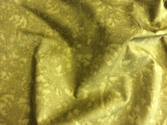 High quality cotton poplin dyed in Japan. Moss green