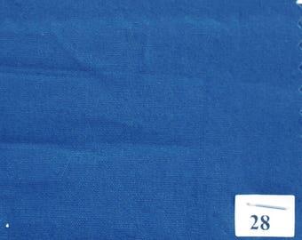 Mid blue cotton poplin no28