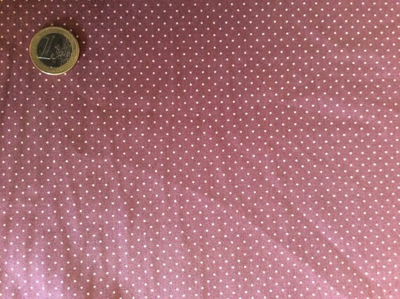 High quality cotton poplin dyed in Japan with 1mm polka dot, nr14