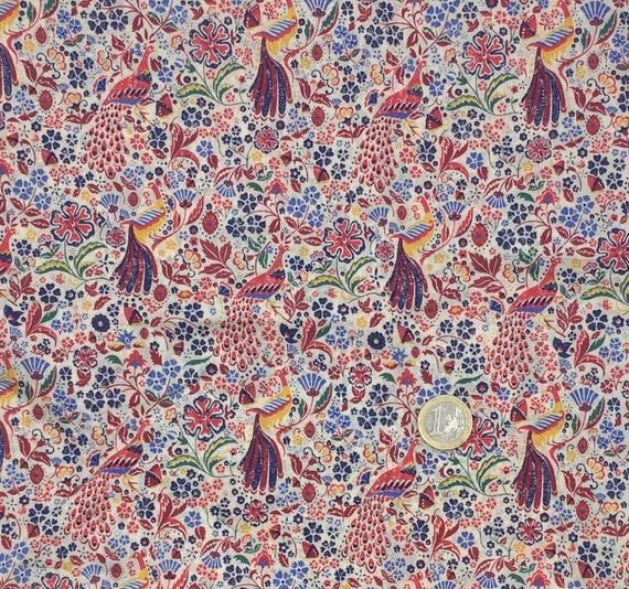 Tana lawn fabric from Liberty of London, Juno's Garden