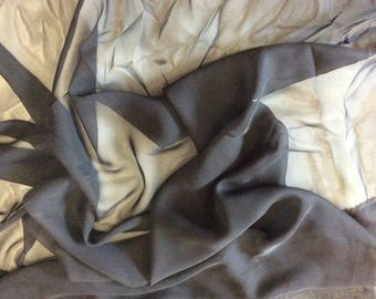 Black georgette, 150cm width fabric