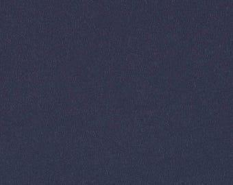 Storm blue cotton jersey