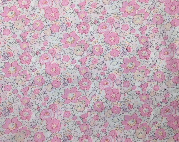 Tana lawn fabric from Liberty of London, exclusive Betsy Sakura