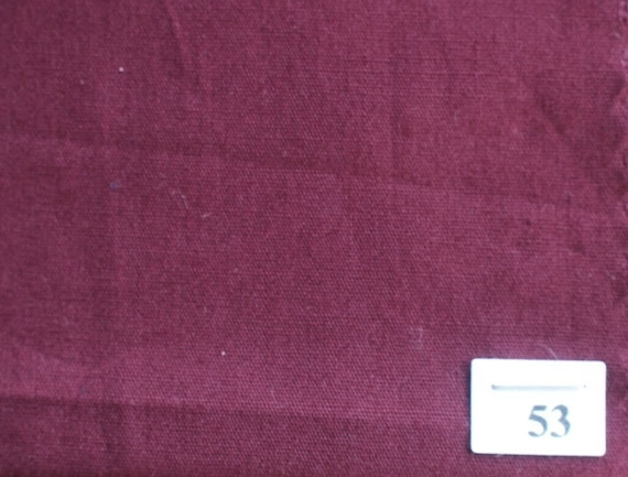 High quality cotton poplin dyed in Japan, bordeaux no53