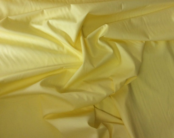 High quality cotton poplin dyed in Japan. Yellow no4