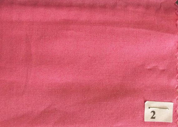 High quality cotton poplin dyed in Japanese, mid pink no2