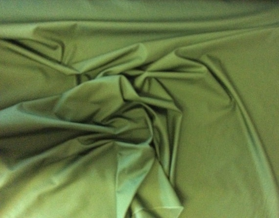 High quality cotton poplin dyed in Japan. Fern green no24