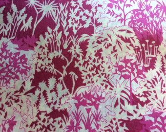 Tana lawn fabric from Liberty of London, Paper Garden