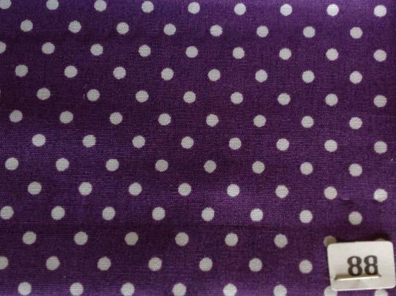 High quality cotton poplin, 3mm polka dots no88