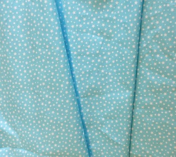 High quality cotton poplin printed in Japan, stars
