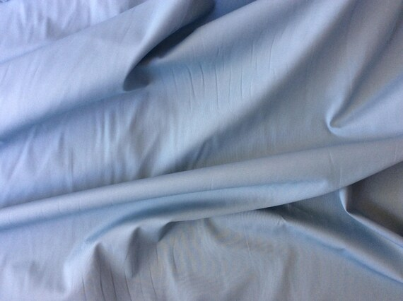 High quality cotton poplin, blue greyish no17