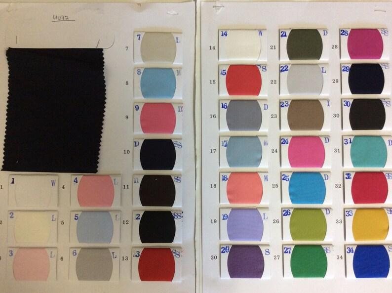 High quality cotton poplin dyed in Japan Kaki no21