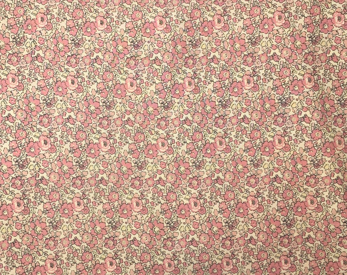 Tana lawn fabric from Liberty of London, exclusive Betsy Ann Toscane