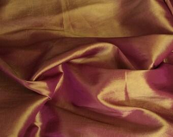 Taffetas fabric, copper
