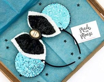 The Full Sequin (Alice) - Handmade Alice In Wonderland Inspired Mouse Ears Headband