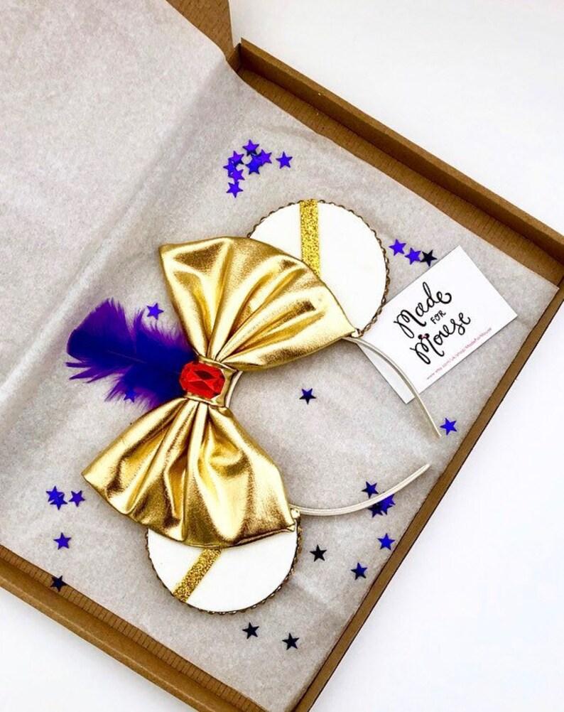 The Diamond in the Rough  Handmade Mouse Ears Headband image 0