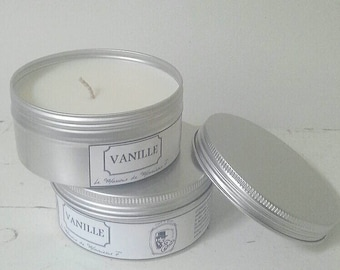 Preserved fragrance vanilla candle