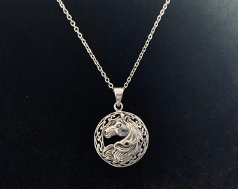 Epona Pendant Necklace handmade and a great Zelda lovers gift!